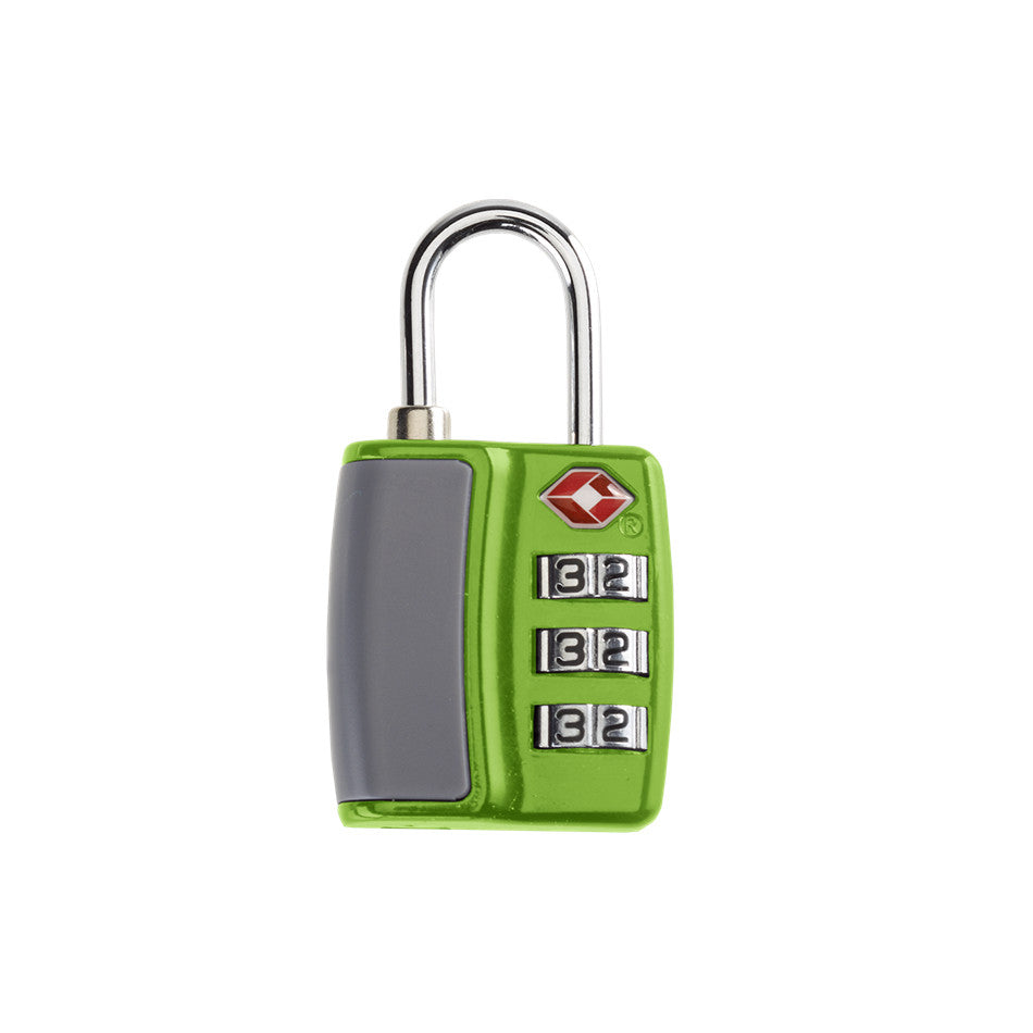 Smooth Trip TSA Combination Lock Green