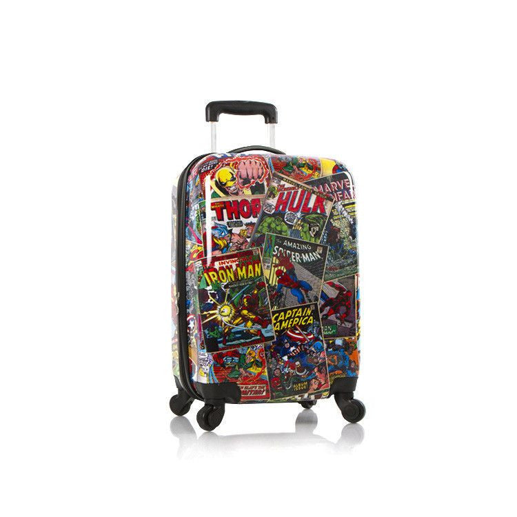 "Heys Marvel Comics 21"" Carry On Spinner luggage Avengers"