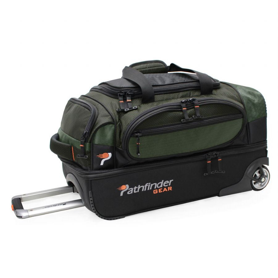"Pathfinder Gear Up Collection 22"" Drop Bottom Duffel Green"