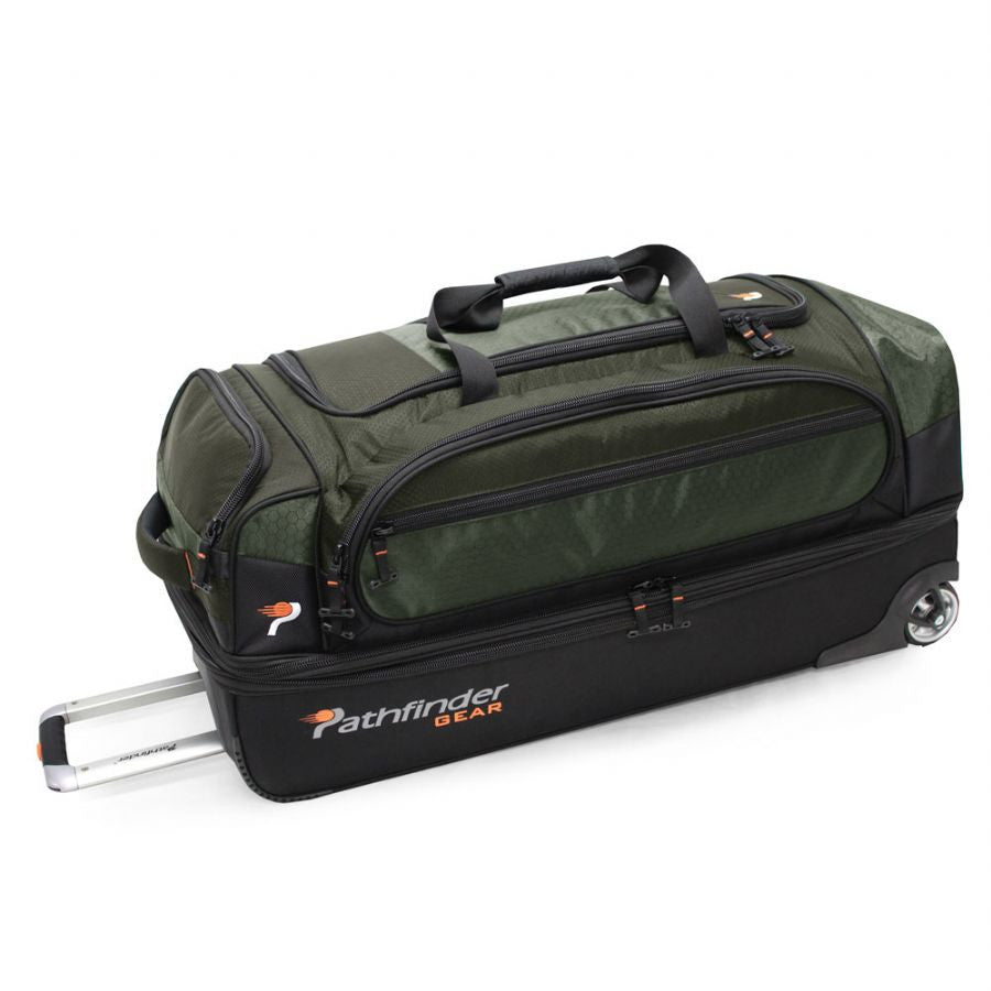 "Pathfinder Gear Up Collection 36"" Drop Bottom Duffel Green"