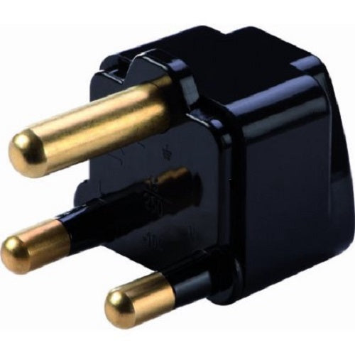 Lewis N Clark South Africa Grounded Adapter Black
