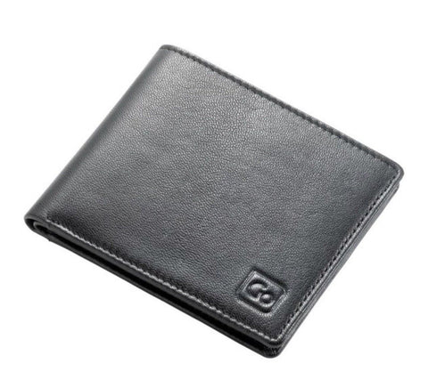 Go Travel RFID Bi Fold Leather Wallet