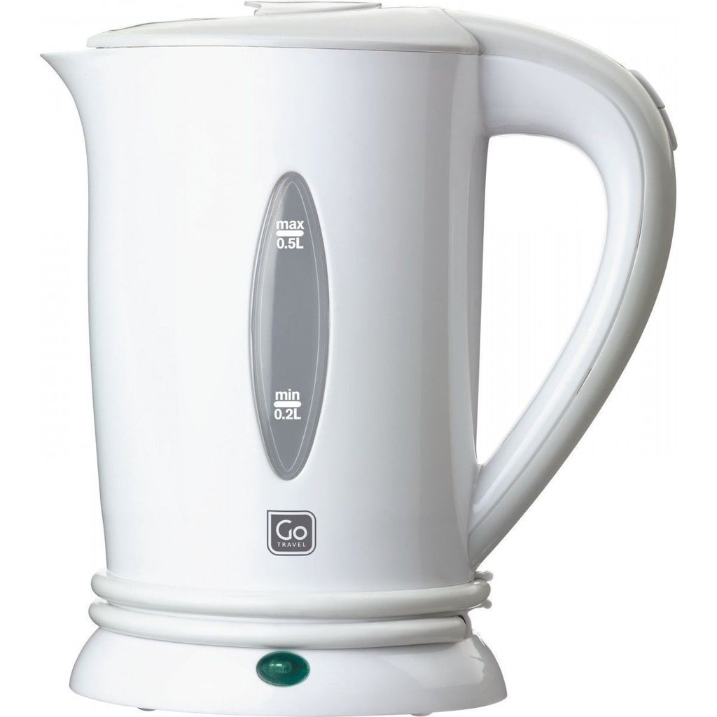 Go Travel Car Kettle White