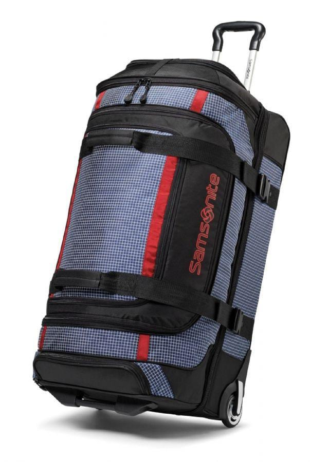 "Samsonite Ripstop 35"" Wheeled Duffel Blue"