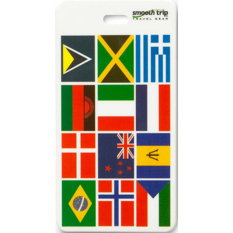 Smooth Trip International Flags Luggage Tag