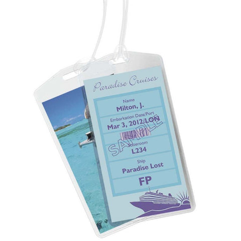 Smooth Trip Cruise ID Tag - 2 Pk