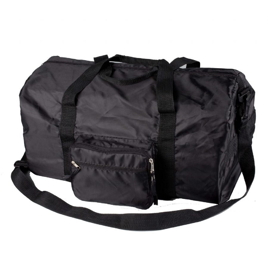 Smooth Trip Travel Gear Folding Packable Duffel Black