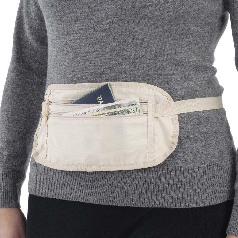 Smooth Trip Cool Max Waist Money Belt Ivory