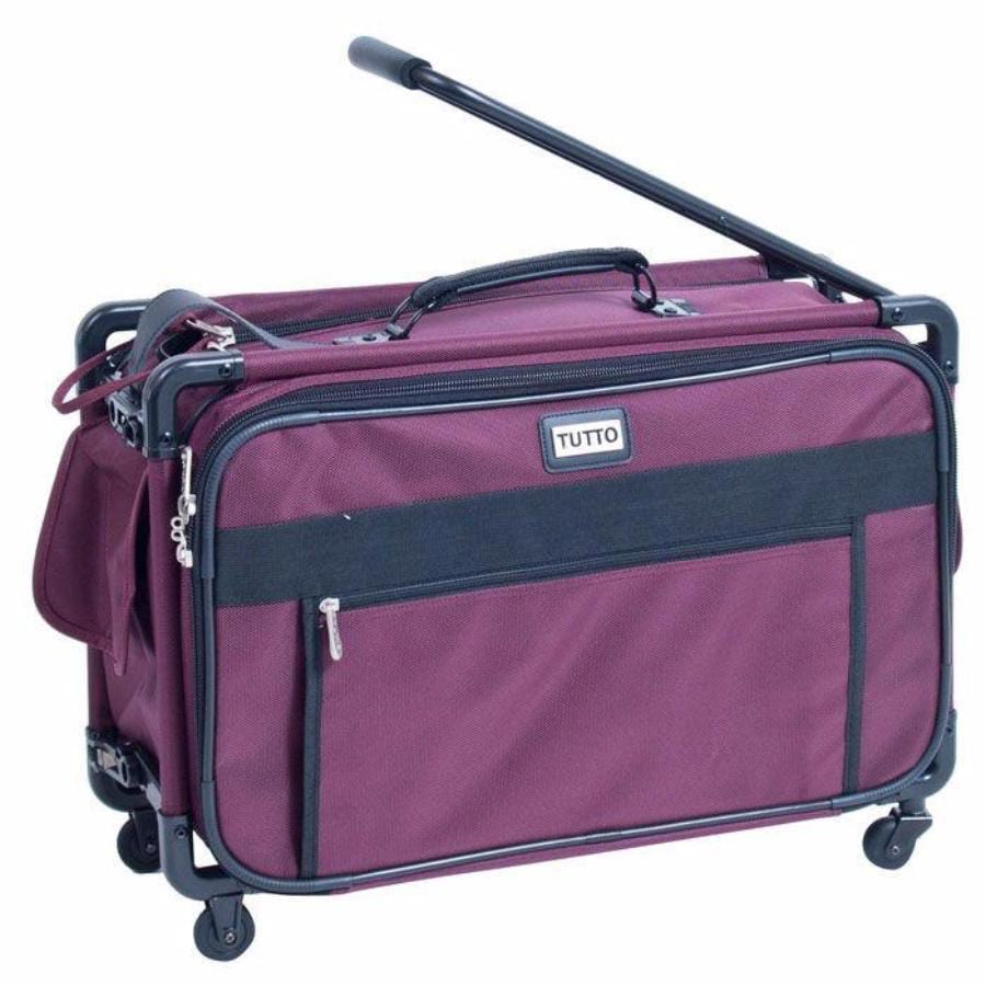 "Tutto Small Regulation Carry-On 17"" Burgundy"