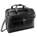 "Siamod Carugetto 15.4"" Leather Detachable Wheeled Laptop Briefcase"