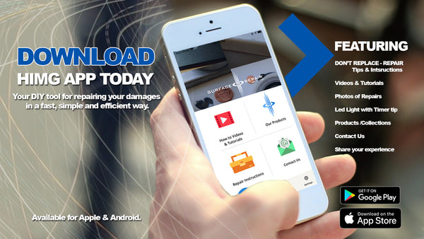 Download our app for free and get some very useful repair tips and tutorials