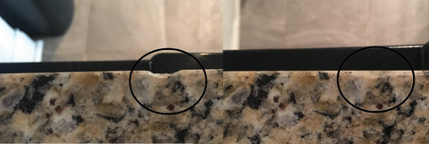 Granite edge repair
