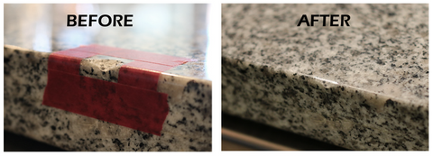 fix a chipped granite edge