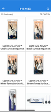 """Granite chip repair kit"", ""Light Cure Acrylic"", ""HIMG® Surface Repairs"""