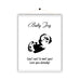 Personalised Baby Birth Poster Print Baby Scan Photo Hanging Magnetic Poster - Ai Printing
