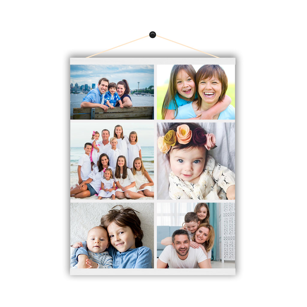 Personalised Print Poster Collage Photo Image Custom Magnetic Hanging Poster - Ai Printing