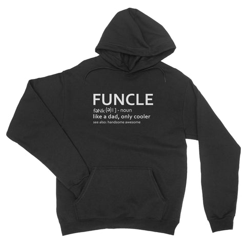 Funcle Funny Uncle Definition Hilarious Cool Gift - Hoodie Unisex - Ai Printing