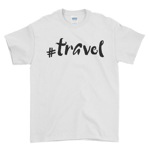 #Travel Selfie - T-shirt - Mens - Ai Printing
