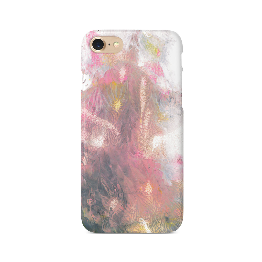 Colourful Pastel Marble Paint B - 3D Clip Case - Ai Printing