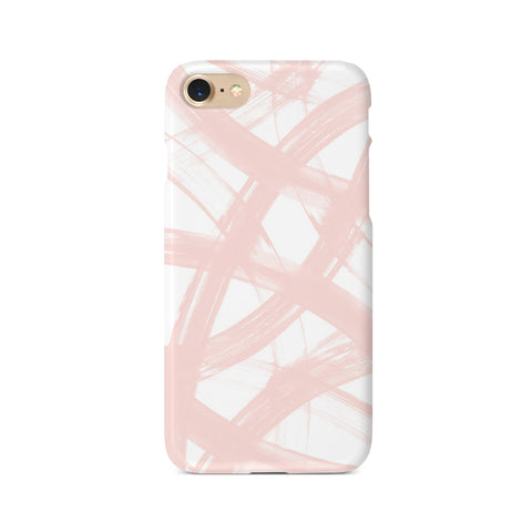 Pastel Pink Personalised Initials - 3D Clip Case - Ai Printing