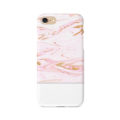 Pink Marble Block - 3D Clip Case - Ai Printing