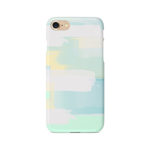 Pastel Green Personalised Initials - 3D Clip Case - Ai Printing