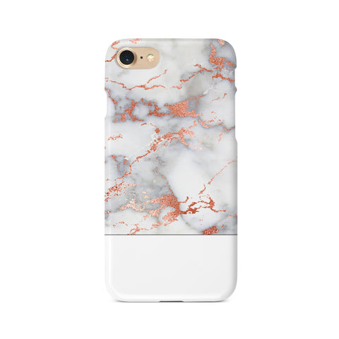 Rosy Marble Block - 3D Clip Case - Ai Printing