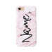 Pink Marble Personalised Text - 3D Clip Case - Ai Printing