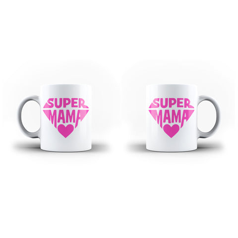 Super Mama Mother Best Mom Mother's Day Mug Gifts