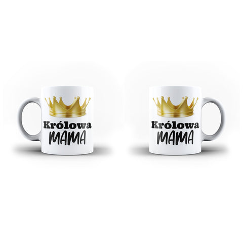 Królowa Mama Mother Poland Polish Best Mom Mother's Day Mug Gifts