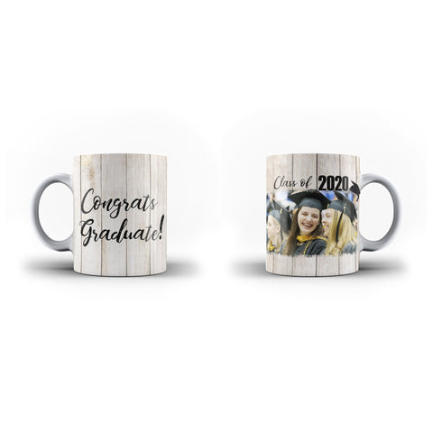 Personalised Mug Custom Photo Graduation Memorial Gift - Personalised Mug