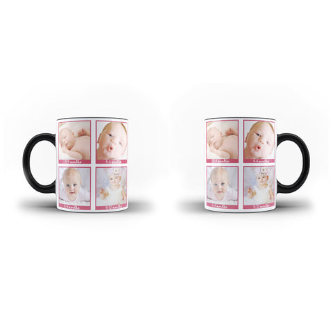 Personalised Collage Mug Custom Baby Photo Mug Lovely Gift - Personalised Mug