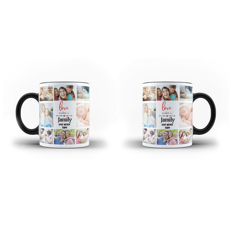 Personalised Mug Custom Collage Family Memorable Lovely Gift - Personalised Mug