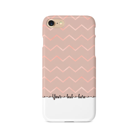 Geometric Personalised Text B - 3D Clip Case - Ai Printing