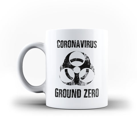 Corona Virus Ground Zero Restricted - White Magic And Inner Color Mug(mugs near me,mug website)