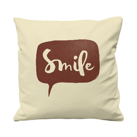 Smile - Cushion Cover - 41 x 41 cm - Ai Printing