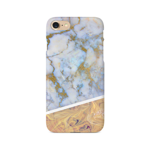 Contrast Personalised Marble Design A - 3D Clip Case - Ai Printing