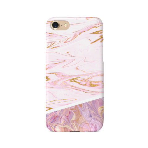 Contrast Personalised Marble Design B - 3D Clip Case - Ai Printing