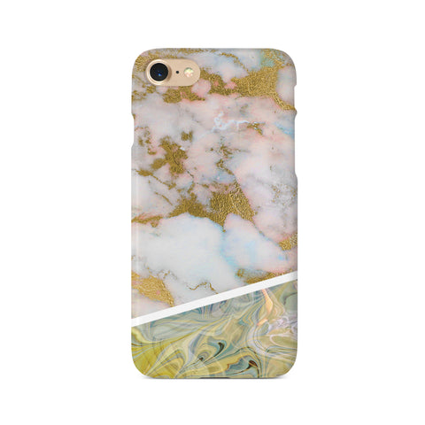 Contrast Personalised Marble Design C - 3D Clip Case - Ai Printing