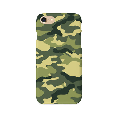 Green Camouflage Print - 3D Clip Case - Ai Printing