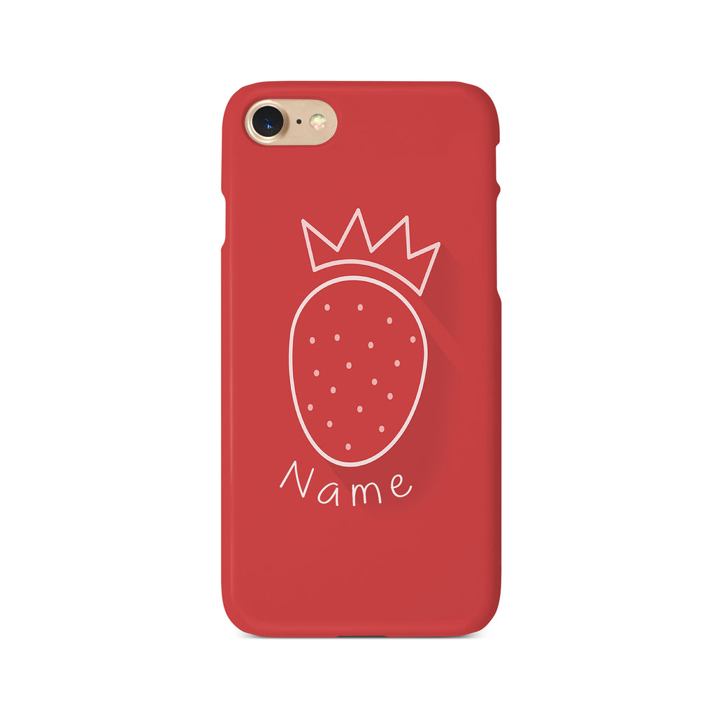 Strawberry Crown - 3D Clip Case - Ai Printing