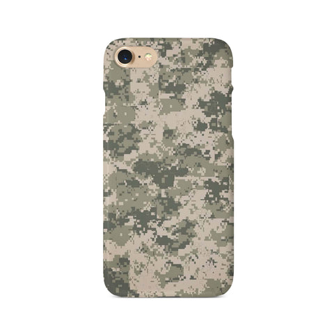 Pixelated Camouflage Print - 3D Clip Case - Ai Printing