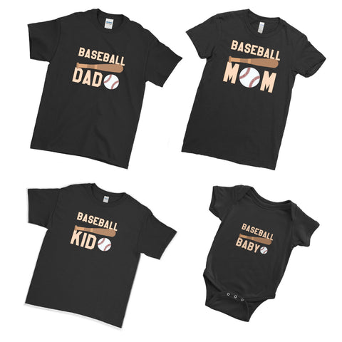 We Are Baseball Family!  - Family Matching T-Shirts - Ai Printing