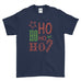 Ho Ho Ho Ho Christmas Decorated - T-Shirt - Mens - Ai Printing