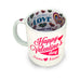 To My Amazing Valentine's Day Gift Mug - Personalised Mug - White Magic Valentine - Ai Printing