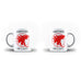 Mother's Day Mommy Best Awesome Funny Cool Gift - Unique Mug - White Set - Ai Printing