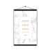 Personalised Marble Wedding Welcome Sign Table Plan Planner Programme - Hanging Poster | Ai Printing - Ai Printing