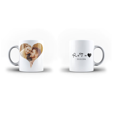 Personalised Beautiful Valentine's Day Gift Mug - Personalised Mug | Ai Printing - Ai Printing