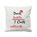 Dear Santa I Can Explain   - Cushion Cover - 41 x 41 cm - Ai Printing