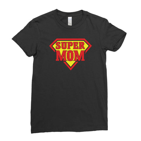 Super Mom of  Superman Mother's Day Best Awesome Funny Gift - Unique Mug T-shirt Top Tee - Ai Printing